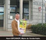 Henri BRONNER, Maire de Vendenheim
