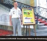 Général DORANGE, Gouverneur militaire de Strasbourg