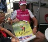 Cadel EVANS, cycliste professionnel