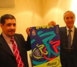 Rabah LARBI, Consul, et Abdelhamid TEMMAR, Ministre d'Algérie