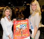 Les Miss Claudia FRITTOLINI et Virginie SCHMITT