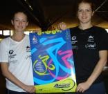 Daniela SCHUMANN et Vanessa ATKINSON, squasheuses professionnelles