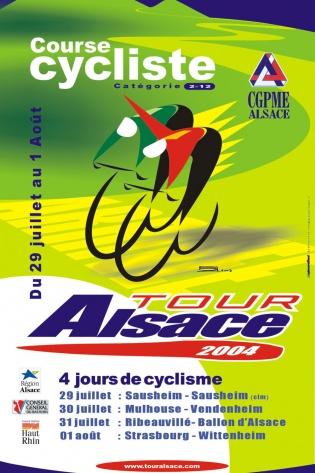 Affiche Tour Alsace 2004
