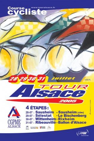 Affiche Tour Alsace 2005