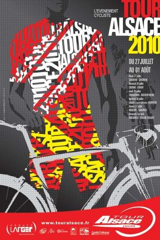 Affiche Tour Alsace 2010