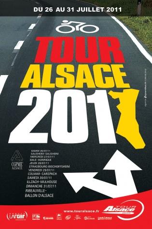 Affiche Tour Alsace 2011