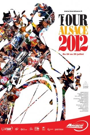 Affiche Tour Alsace 2012