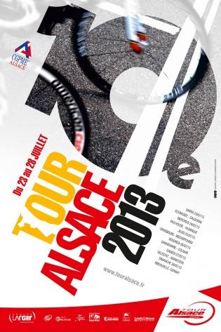 Affiche Tour Alsace 2013