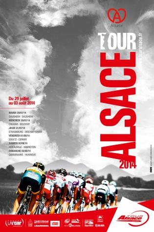 Affiche Tour Alsace 2014