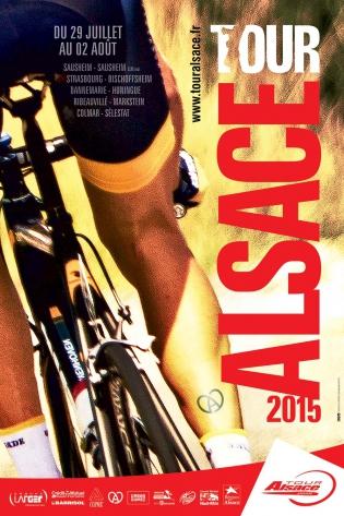 Affiche Tour Alsace 2015