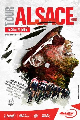 Affiche Tour Alsace 2016