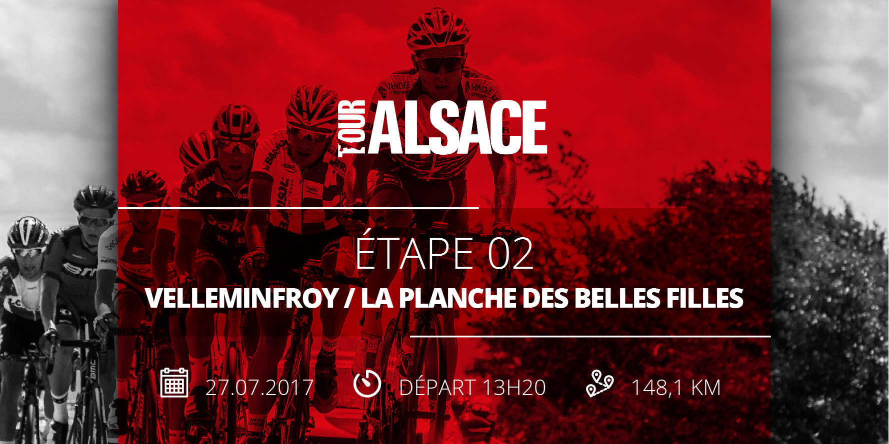 Tour Alsace cycliste 2017 essayé 2 velleminfroy la planche des belles filles
