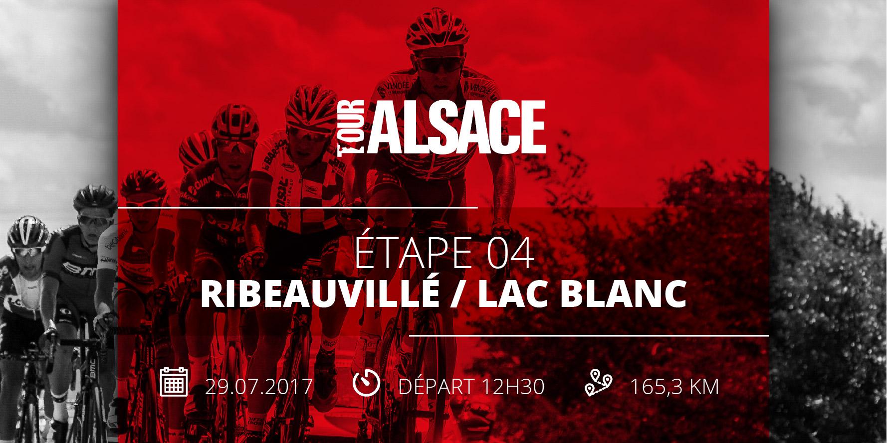 Tour Alsace 2017 étape 4 montagne ribeauville lac blanc