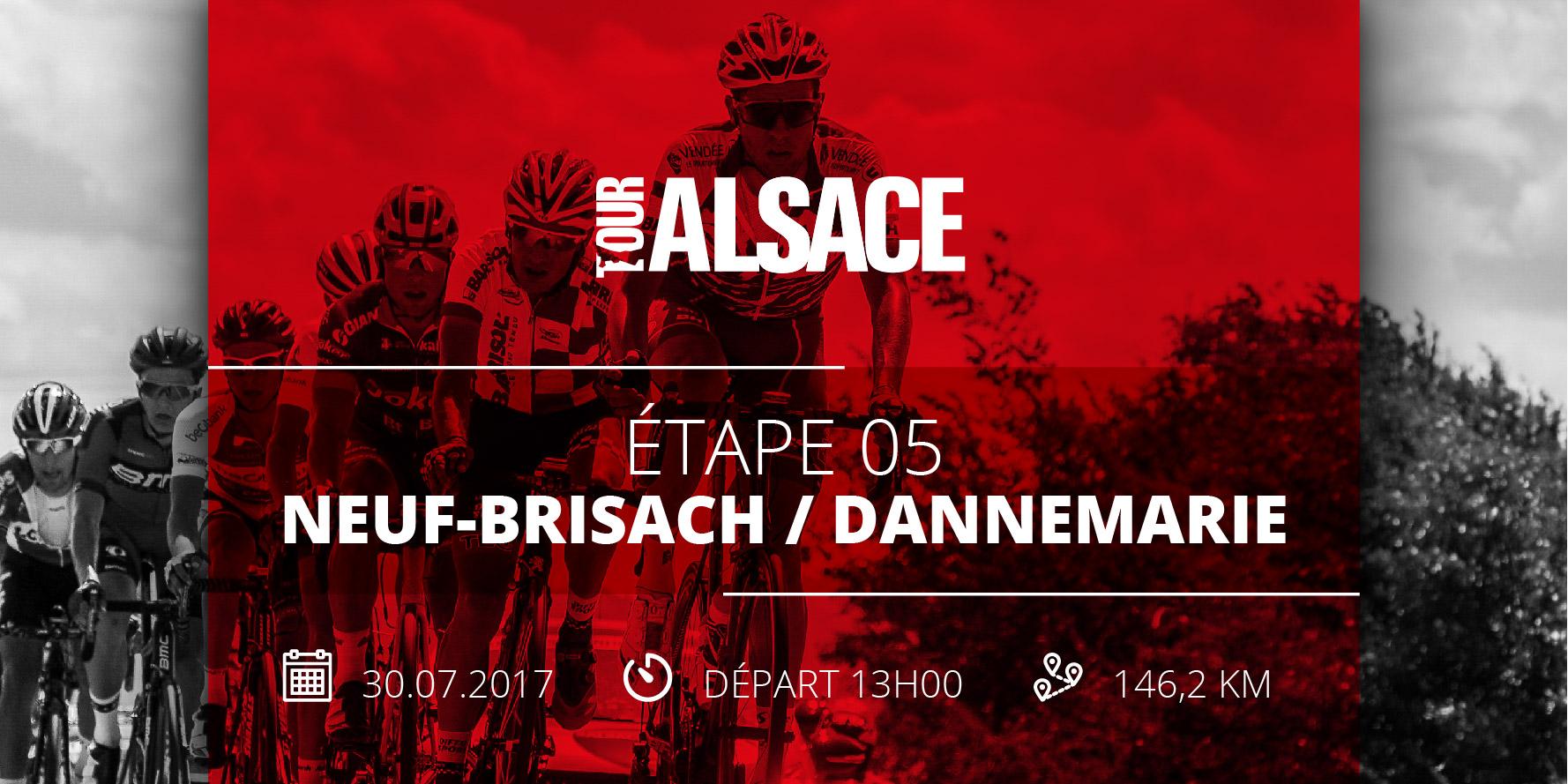 Tour alsace 2017 Neuf Brisach Dannemarie