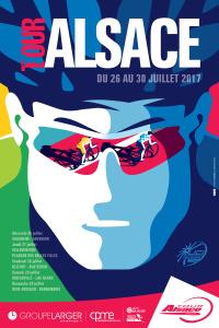 Affiche officielle du Tour Alsace Cycliste 2017