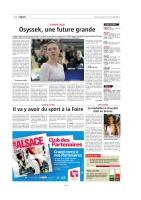 24.07.18 - L'ALSACE - Encart Presse