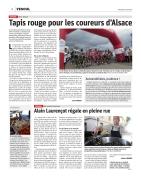 03.08.18 - EST REPUBLICAIN - Article - Tapis rouge pour les coureurs d'Alsace
