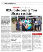 30.07.2019 - M2A roule pour le Tour Alsace Cycliste