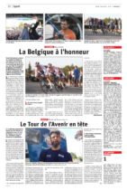 01.08.2019 - La Belgique à l'honneur