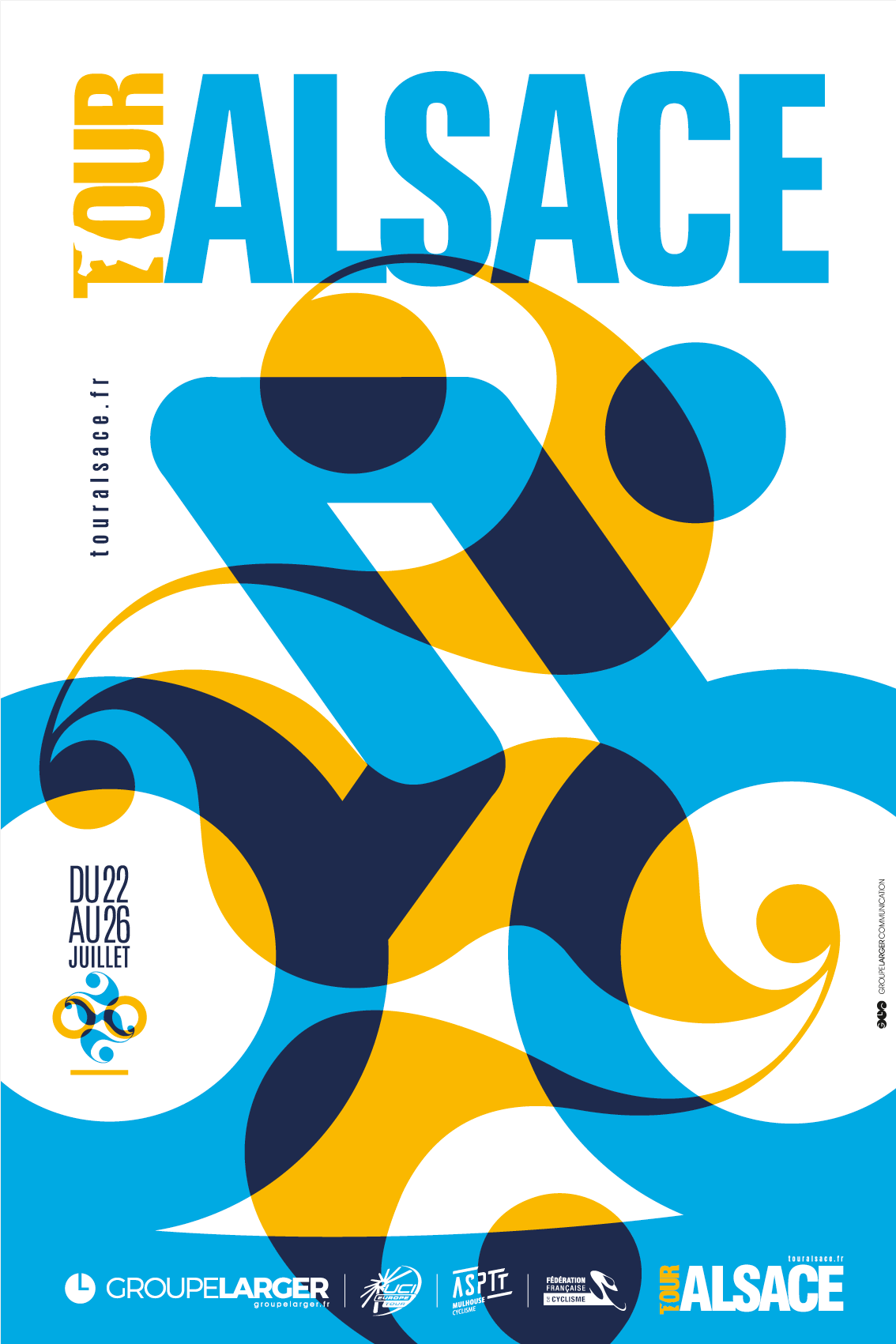 Affiche du tour Alsace